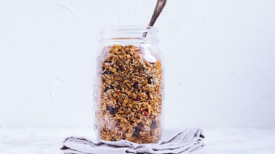 Homemade, Guilt-Free Granola