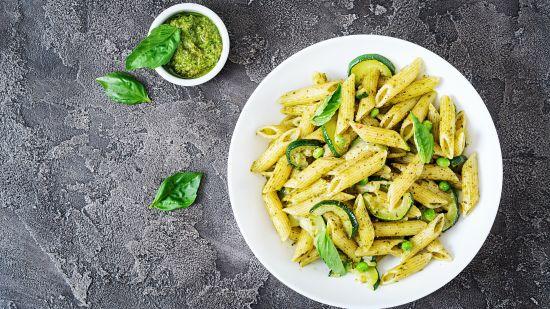 Green Girl  Summer Pasta