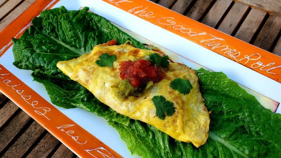 Hatch Chile Omelet
