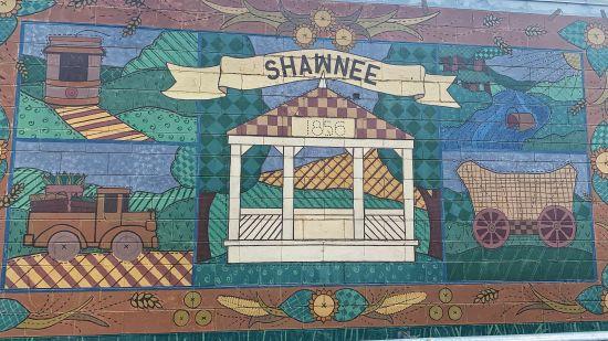 Walking Downtown Shawnee
