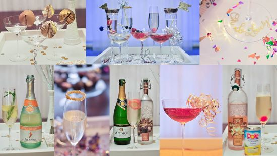 15 Ways to Glam up Your NYE Cocktail