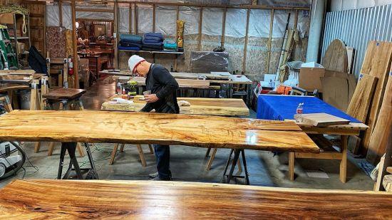 Design With Live Edge Wood Slabs