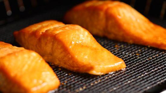 Salted Caramel Salmon Filets