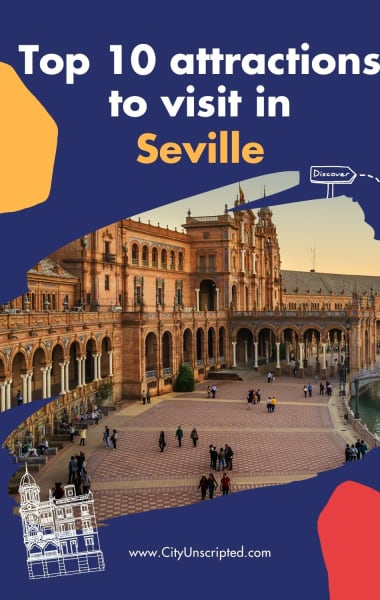 Top 10 attractions in Seville