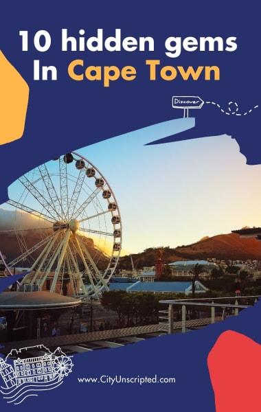 10 Hidden Gems In Cape Town