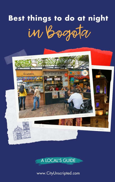 Best things to do at night in Bogota