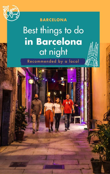 Best things to do in Barcelona at Night