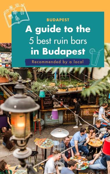 5 Best Ruin Bars In Budapest