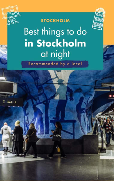 Best Things To Do In Stockholm At Night