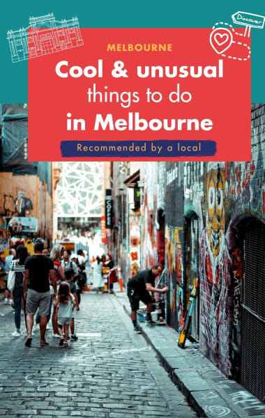 Discover Cool and Quirky Melbourne