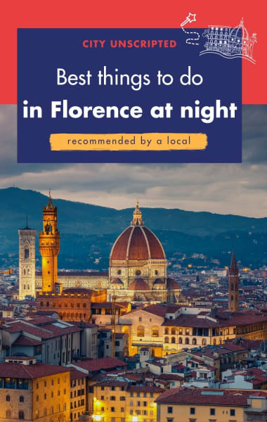 Best things to do in Florence at night