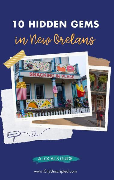 Hidden gems in New Orleans