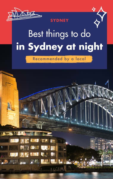 Best Things To Do In Sydney At Night