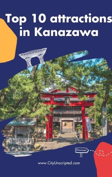 Top 10 attractions in Kanazawa