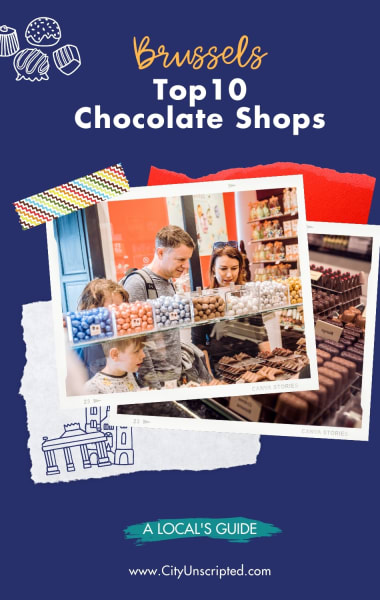 Top 10 Chocolate Shops in Brussels