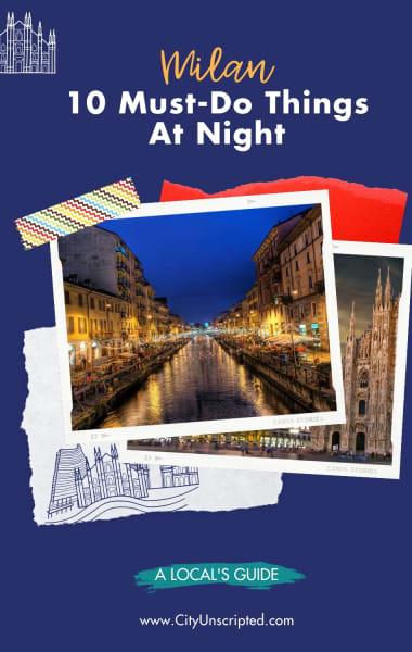 10 Must-Do Things in Milan at Night