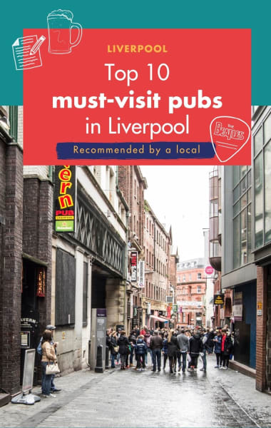 Top 10 Pubs In Liverpool - Recommended by a Local