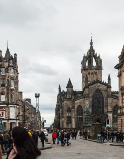 Walking tours in Edinburgh