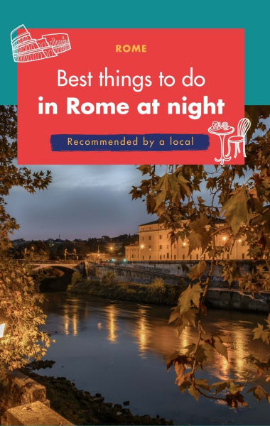 Best Things To Do In Rome At Night