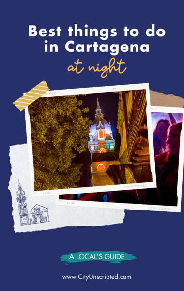 Best things to do in Cartagena at night
