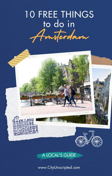 Top Free Things to do in Amsterdam