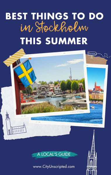 What To Do In Stockholm This Summer - Things to do in June, July and August