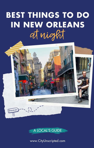 Best things to do in New Orleans at night