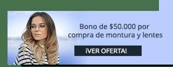 Óptica Viva Visión - Recibe bono de $50.000 de descuento por compra de montura y lentes