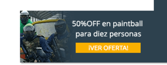 50%OFF en paintball para diez personas - Adrenalina Paintball Center