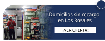 Domicilios sin recargo en Los Rosales - Droguería El Castillo de Los Rosales