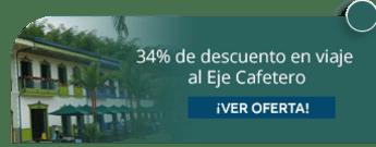 34% de descuento en viaje al Eje Cafetero - Sertucol Turismo y Recreación