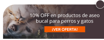 Animals Center -  10% OFF en productos de aseo bucal para perros y gatos