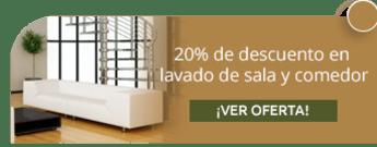 Clean Delivery S.A.S. - 20% de descuento en lavado de sala y comedor