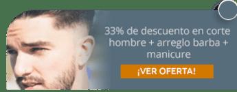 33% de descuento en corte hombre + arreglo barba + manicure - Be Young Saloon