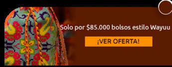 Solo por $85.000 bolsos estilo Wayuu - Bolsos Artesanales Blanca y Maria
