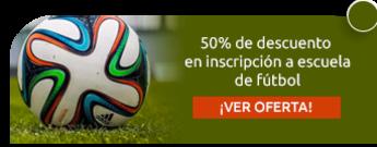 50% de descuento en inscripción a escuela de fútbol - Escuela de Fútbol Boavista