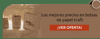 Los mejores precios en bolsas de papel kraft - Empaques 1A