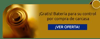 ¡Gratis! Batería para su control por compra de carcasa - Codificación de Llaves la Universal Controles y Alarmas