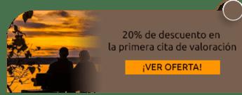 20% de descuento en la primera cita de valoración - Espiritualidad con Sentido