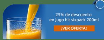 25% de descuento en jugo hit sixpack 200ml - Supertiendas Comunal