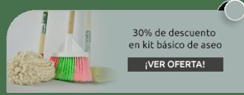 30% de descuento en kit básico de aseo - Almacén Aseol