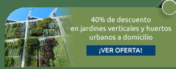 40% de descuento en jardines verticales y huertos urbanos a domicilio - Escuela Agroambiental Nuevo Jardín