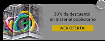 30% de descuento en material publicitario - Logística Marketing y Soluciones S.A.S