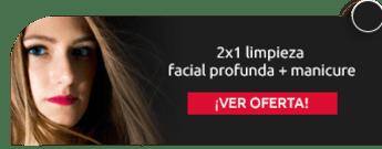 2x1 limpieza facial profunda + manicure - Dr.Lash