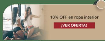 10% OFF en ropa interior - Muéstrame Tus Cucos