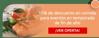 15% de descuento en comida para eventos en temporada de fin de año - Cocina Clásica y Contemporánea
