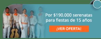 Por $190.000 serenatas para fiestas de 15 años - Mariachi Fiesta Bogotá