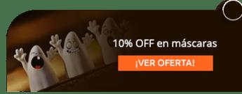 10% OFF en máscaras - Disfraces Por Encargo