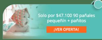 Solo por $47.100 90 pañales pequeñín + pañitos - Droguería Humanitas