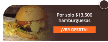 Por solo $13.500 hamburguesas - Burger Legends